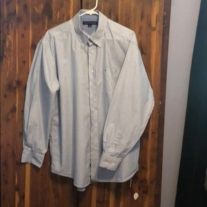 Tommy Hilfiger long sleeved button up size L